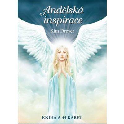 Andělská inspirace - Kniha + 44 karet - Kim Dreyer