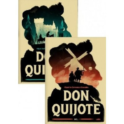Don Quijote Dva svazky - Miguel de Cervantes Saavedra