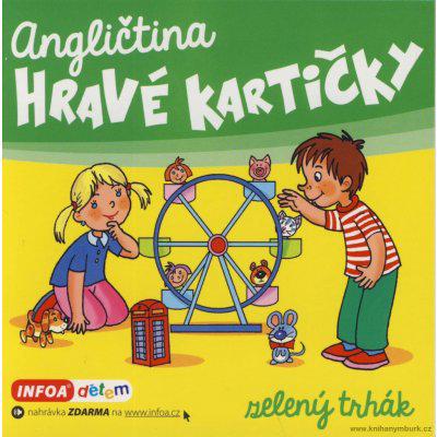 Angličtina - Hravé kartičky - zelený trhák - Šamalíková Pavlína