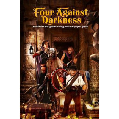Four Against Darkness: A Solitaire Dungeon-Delving Pen-And-Paper Game Sfiligoi AndreaPaperback