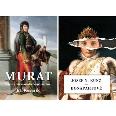 Murat + Bonapartové - komplet - Kovařík Jiří, Kunz Josef N., Vázaná