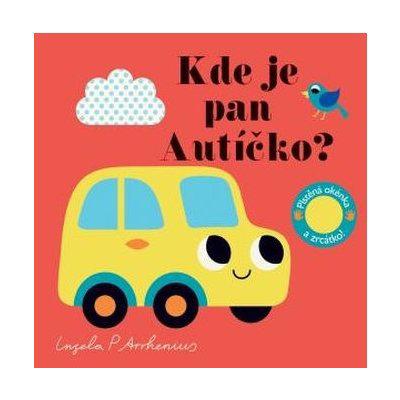 Kde je pan Auto? Plstěná okénka a zrcátko!