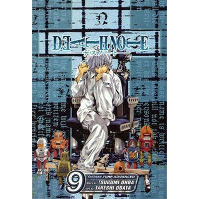 Death Note 9 - Zápisník smrti - ÓBA CUGUMI, OBATA TAKEŠI
