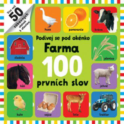 Farma 100 prvních slov - Podívej se pod okénko, Leporelo