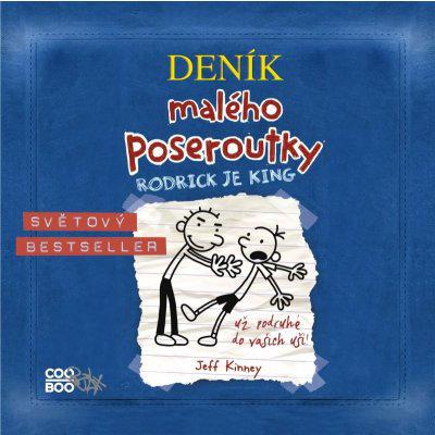 Deník malého poseroutky 2 audio CD Václav Kopta